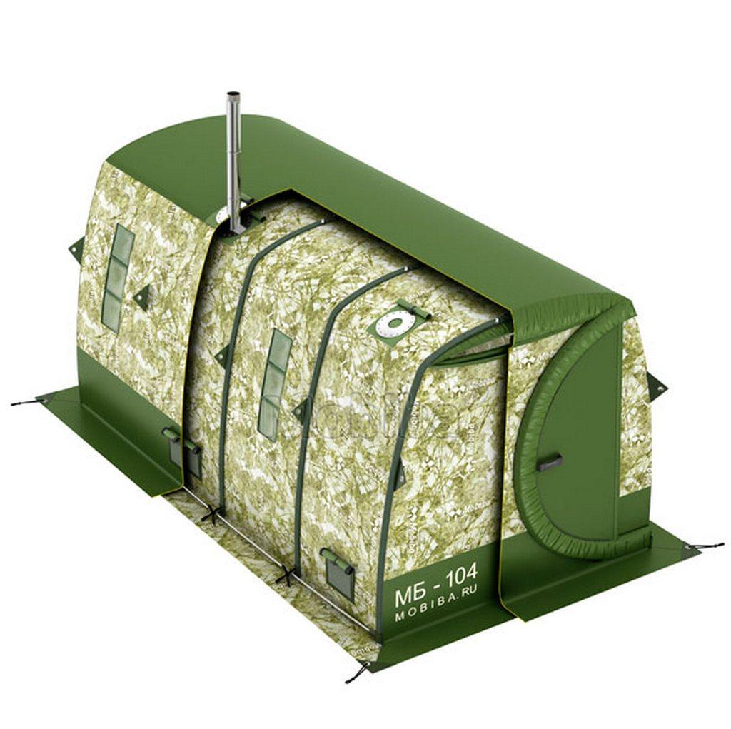 Мобиба - мобильные бани и зимние палатки Армейские и
